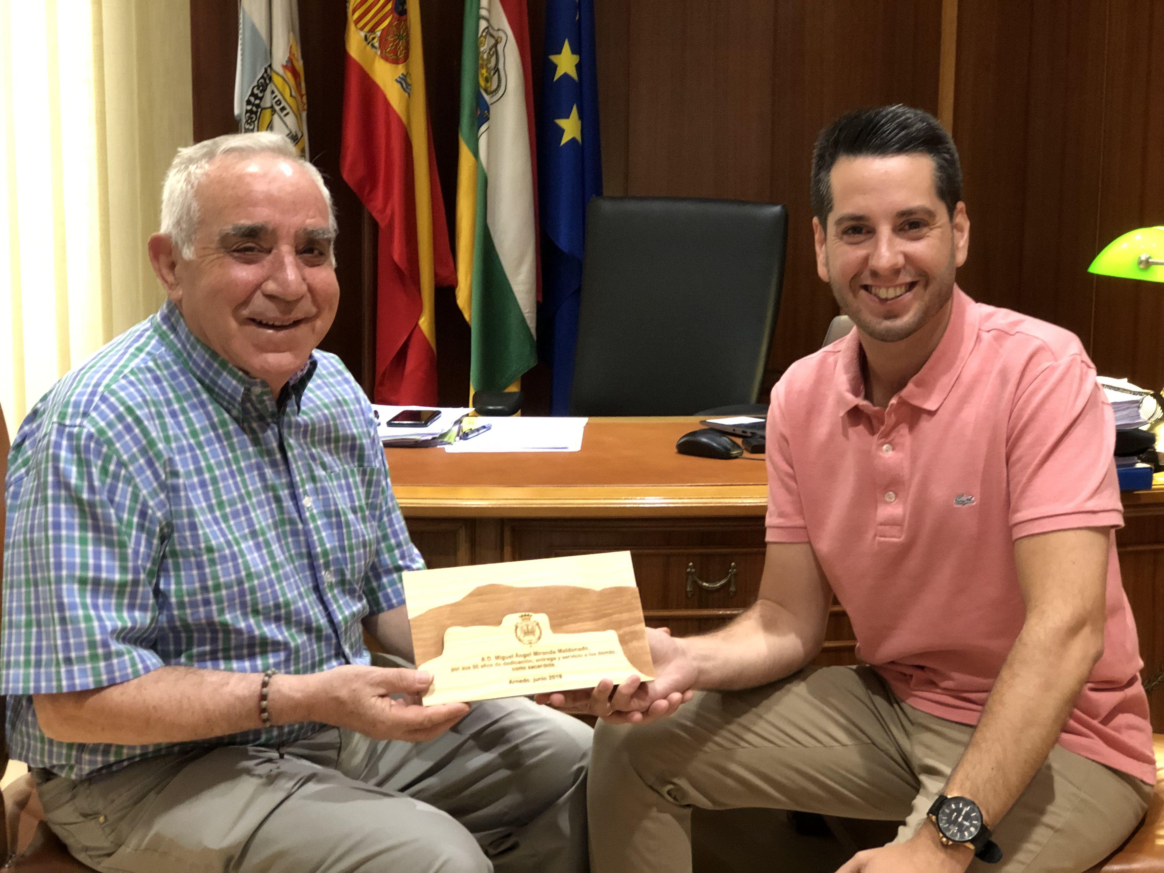 Miguel Ángel Miranda y Javier García