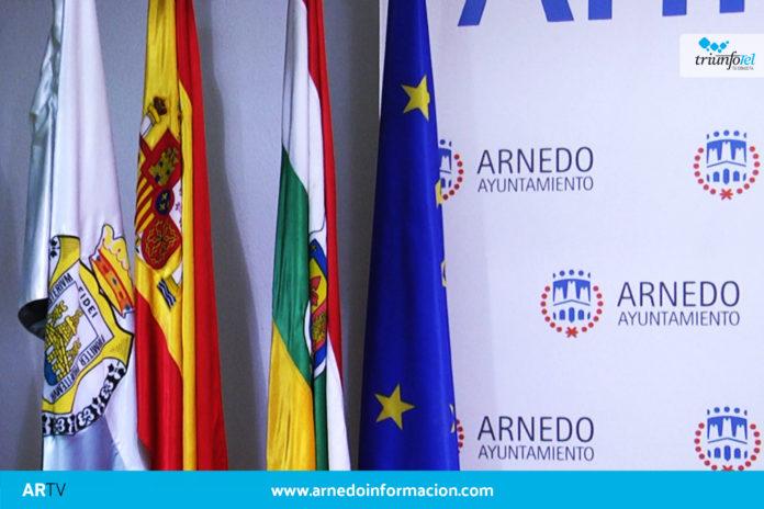 Banderas Ayuntamiento de Arnedo