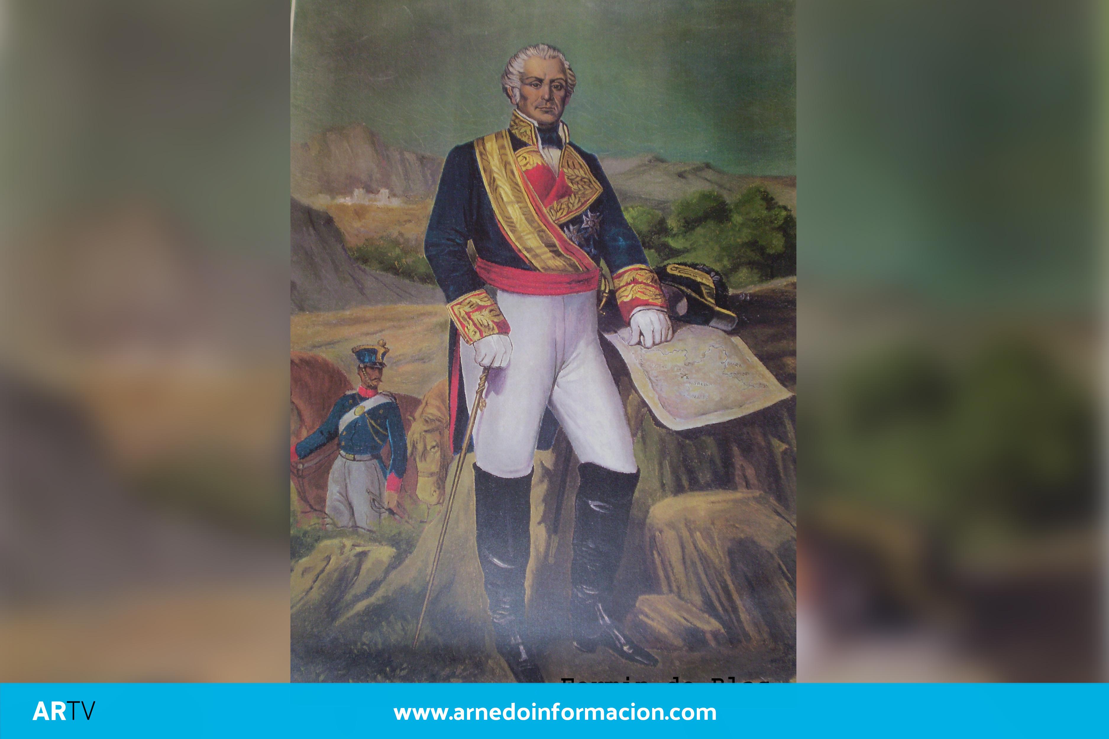 La historia del arnedano General Bretón