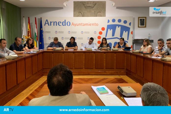 Pleno extraordinario en el Ayuntamiento de Arnedo