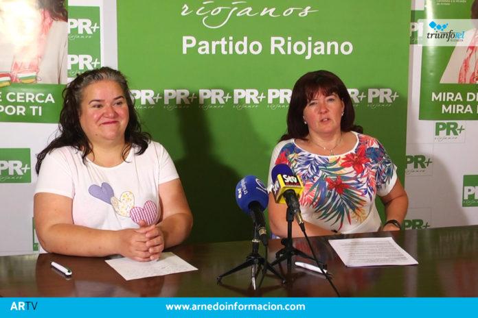 Rita Beltrán durante la rueda de prensa el pasado lunes 29 de agosto