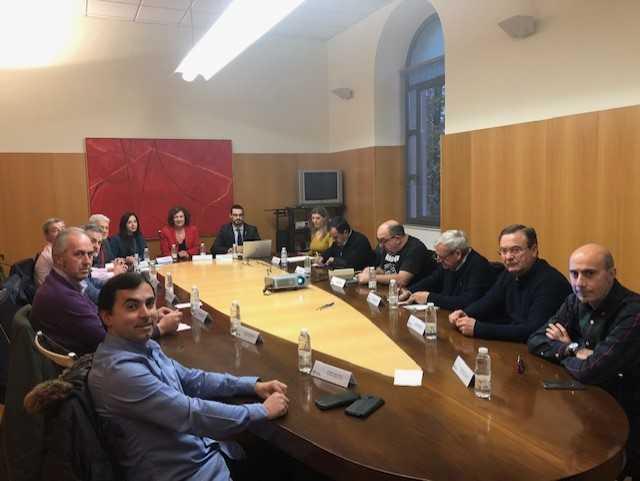 Jurado de la comunidad autónoma de la rioja para deliberar los premios taurinos 2019