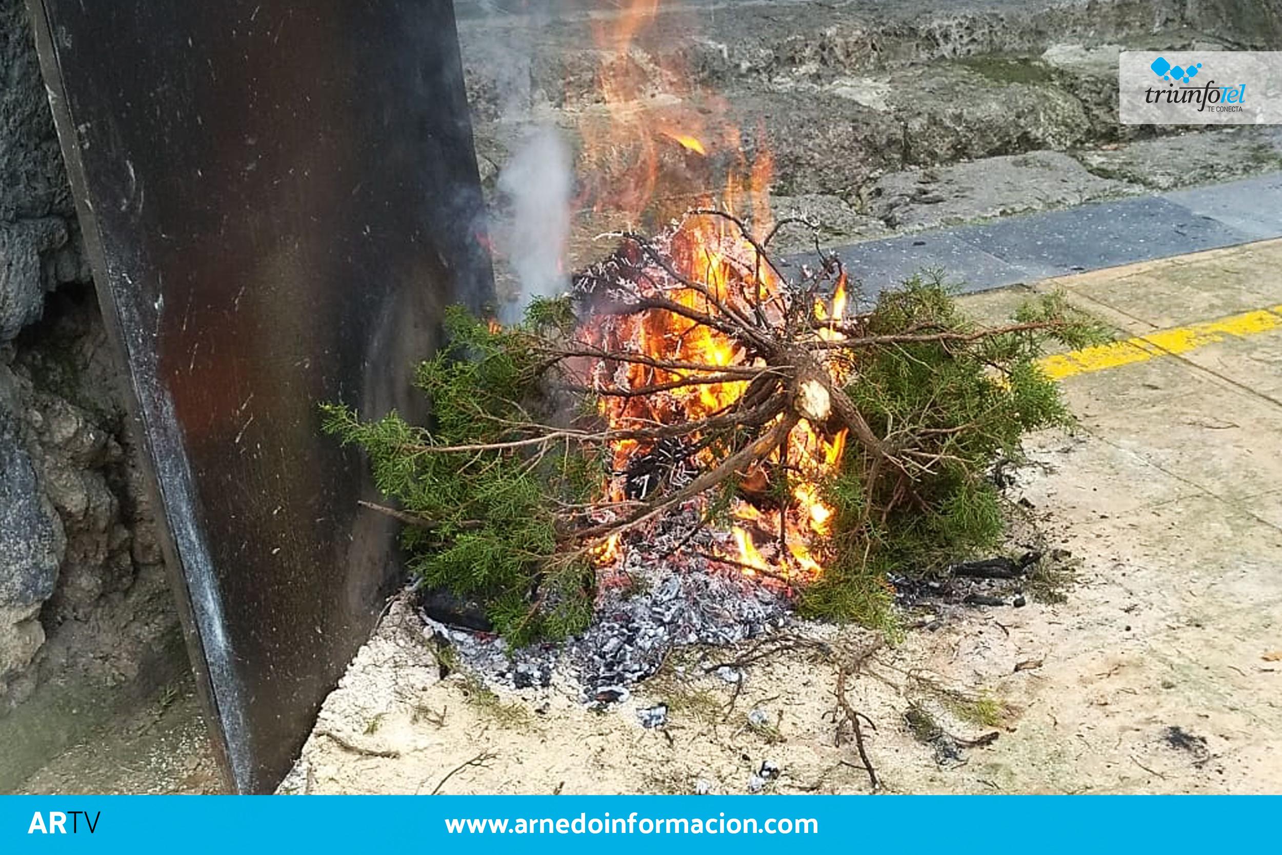 Fiesta del humo en Arnedillo