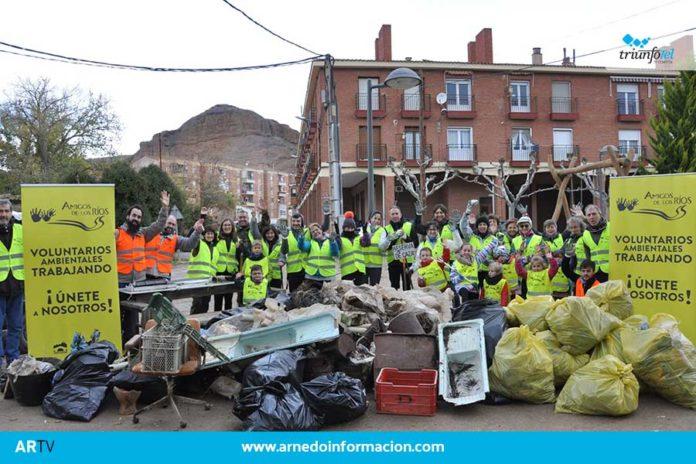 La campaña de limpieza de las riberas de los ríos del Gobierno de La Rioja se finalizará este sábado en Autol, con la limpieza del Río Cidacos