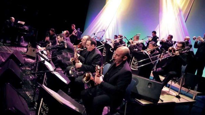 Concierto de jazz a cargo de la banda Leganés Big band