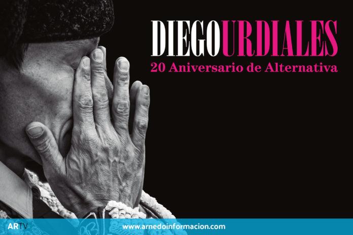 Cartel de la gala aniversario del torero Diego Urdiales