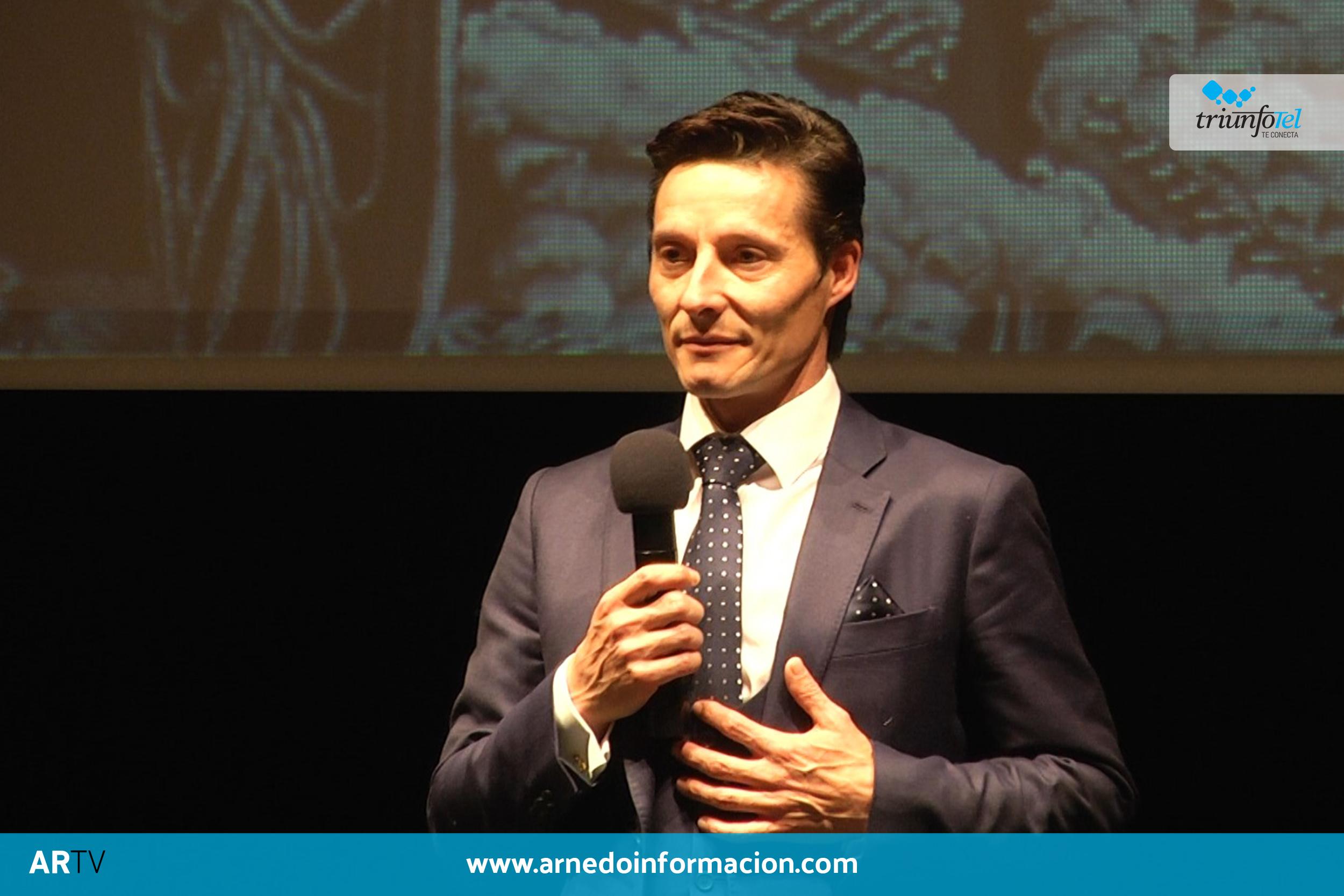 Diego Urdiales durante su gala por el 20 aniversario de alternativa