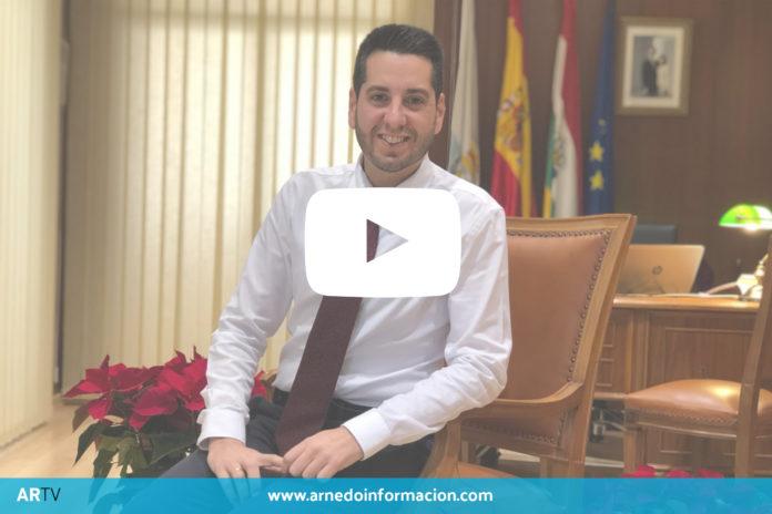 Mensaje de navidad de Javier García, alcalde de Arnedo