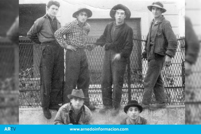 Quintos de Arnedo en el año 1961