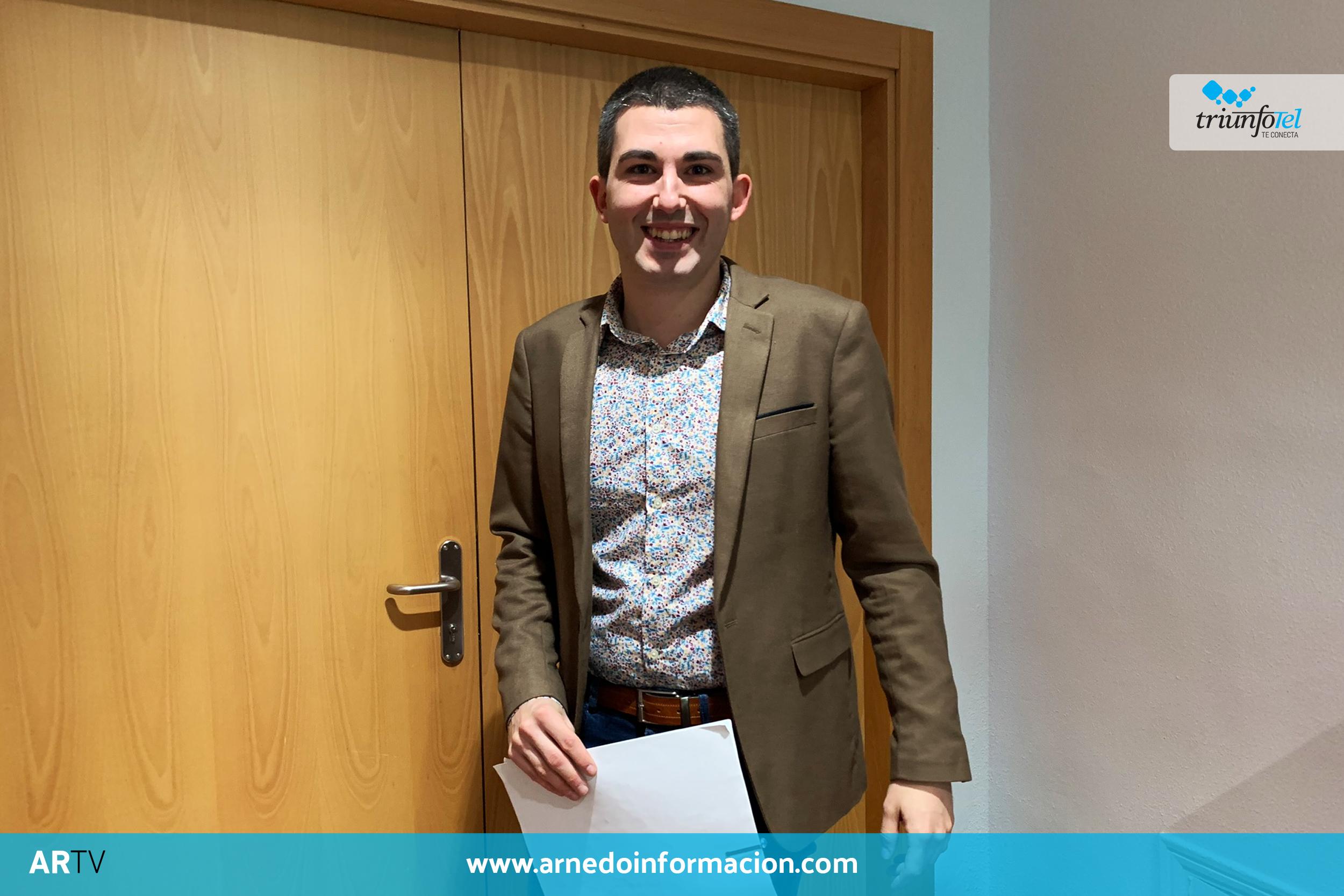 Raúl Domínguez Barragán. Portavoz del equipo de Gobierno de Arnedo