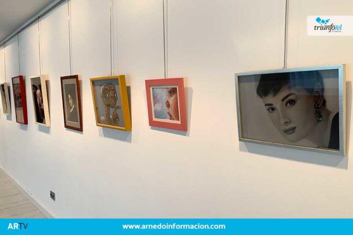 El Centro Fundación Caja Rioja-Bankia de Arnedo acoge desde este martes una exposición de cuadros al pastel de la riojana Victoria González