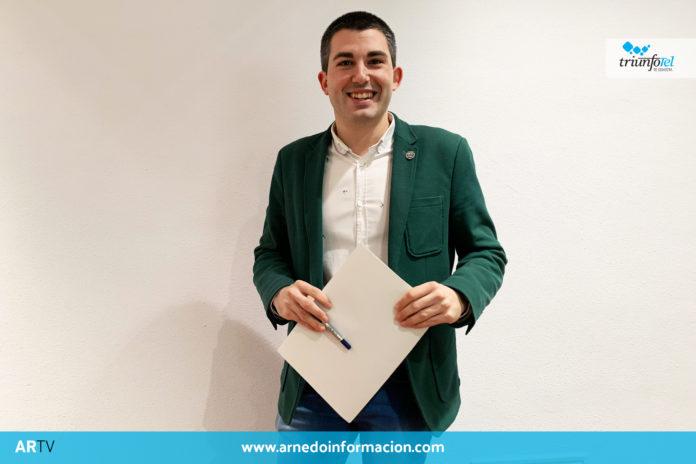 Raúl Domínguez, portavoz del equipo de Gobierno del Ayuntamiento de Arnedo