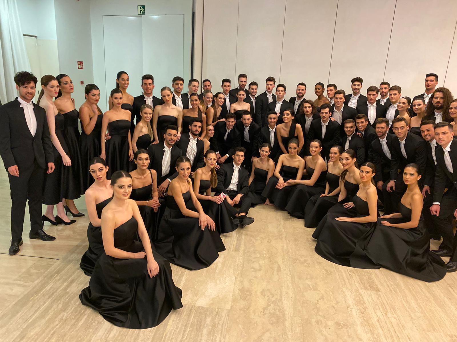 Certamen Miss y Míster España, foto de los participantes