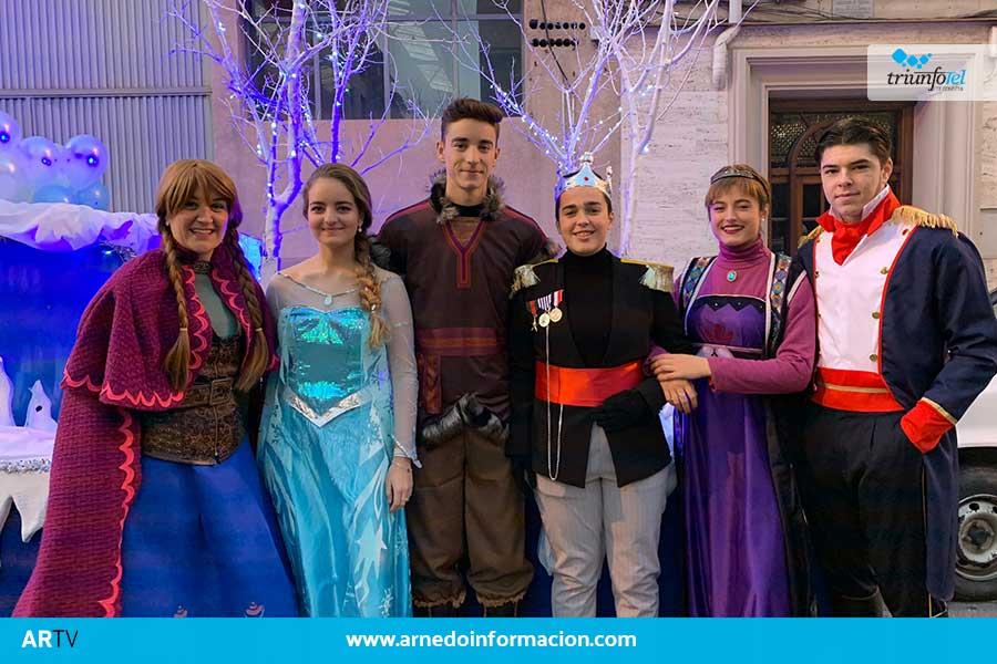 Los Reyes Magos ya han visitado Arnedo