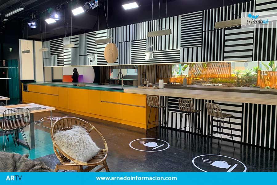 Muebles Veri amuebla la cocina de la academia de Operación Triunfo