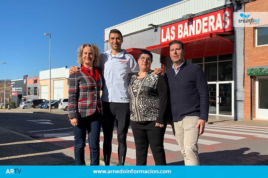 Las Banderas patrocinará al atleta Camilo Santiago en sus próximas competiciones