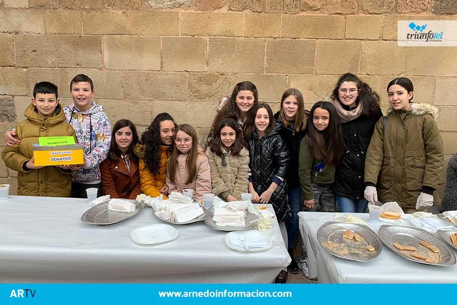 Arnedo ya ha recaudado para Manos Unidas 7.813 euros