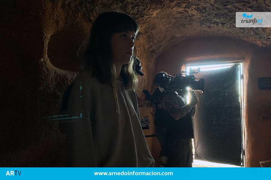 """La serie """"Umbra"""" elige Arnedo como escenario de rodaje"""