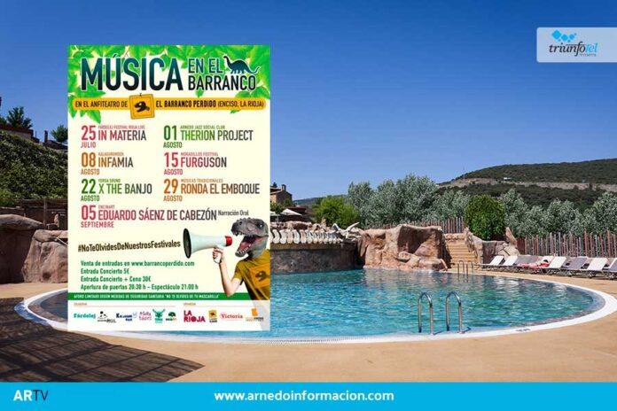 La música inundará este verano El Barranco Perdido, en Enciso