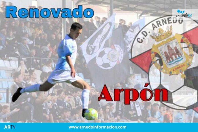 El Club Deportivo Arnedo está comenzando a dar detalles sobre cómo va a ser la composición de su equipo técnico su plantilla de cara a la próxima temporada. Ayer conocíamos que el club ha renovado a su jugador Javier Ruiz Arpón, que seguirá en el equipo arnedano. El equipo ha querido señalar su carisma, el compromiso que hasta ahora ha tenido con el CD Arnedo y las ganas que ha demostrado a la hora de ganarse todo el cariño de la afición. Para el club, Ruiz ha sido un jugador muy importante en la pasada temporada y un ejemplo a seguir para las futuras promesas del fútbol arnedano. Le desean mucha suerte para la nueva temporada.